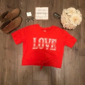 City Streets super soft cropped t-shirt. Small